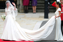 Kate's royal wedding dress to go on public display