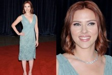 Scarlett Johansson unveils brand new bright red hairstyle