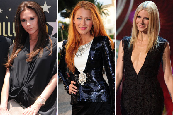Victoria Beckham, Blake Lively and Gwyneth Paltrow have all designed t-shirts for Uniqlo's charity campaign. Photos:PA