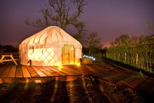 Let's go glamping! The best places for camping with a difference