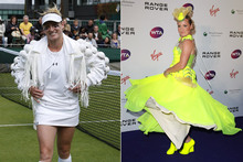 Bethanie Mattek-Sands channels Lady Gaga at Wimbledon