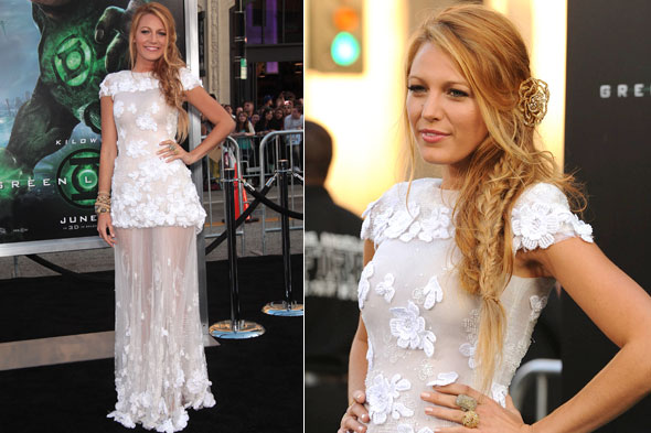 Blake Lively in Chanel Couture at the Green Lantern LA premiere