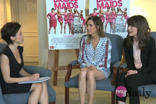 Video: Dannii Minogue interviews Bridesmaids stars Kristen Wiig & Rose Byrne