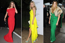 The stars showcase some fabulous fashion at the Burberry Serpentine Summer Party