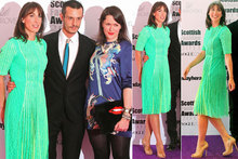Dressed to impress: SamCam wows in neon green Christopher Kane
