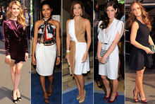 Stars hit Ferragamo front row - but who gets your vote as best dressed?