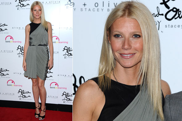 Gwyneth Paltrow at the annual Bent on Learning benefit in New York