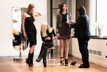 First glimpse of Versace for H&M in action courtesy of Anna Dello Russo