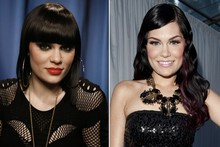 Who's that girl? Jessie J tries out a new look at Glamour awards
