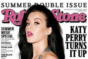 Katy Perry on the Rolling Stone cover