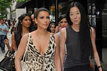 Kim Kardashian to wear Vera Wang wedding dress?
