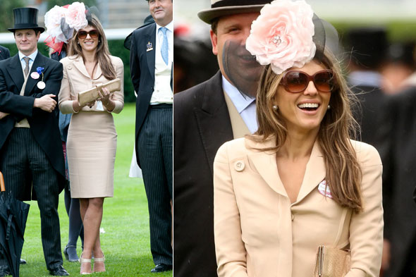 Elizabeth Hurley | Liz Hurley at 2011 Royal Ascot Ladies Day