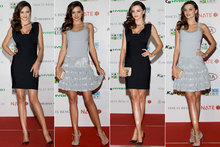 Frock swap! 2 dresses in 1 night for Miranda Kerr - but which is your favourite?