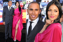 Nicole Scherzinger gets glam in fuchsia kimono dress for Cars 2 premiere