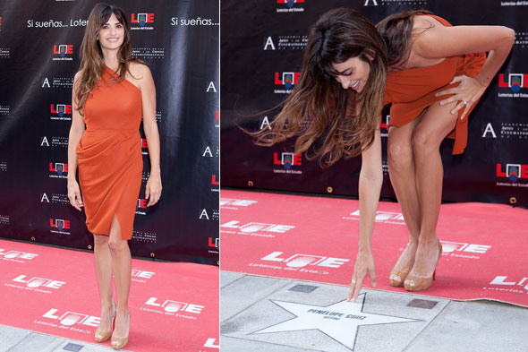Penelope Cruz receives Walk of Fame star in Madrid