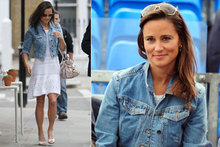 Pippa Middleton wears tennis whites to watch Andy Murray