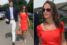 Pippa Middleton & Alex Loudon definitely still on: pair enjoy afternoon at Wimbledon