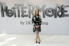 J.K. Rowling hits Victoria & Albert Museum to launch new Pottermore website