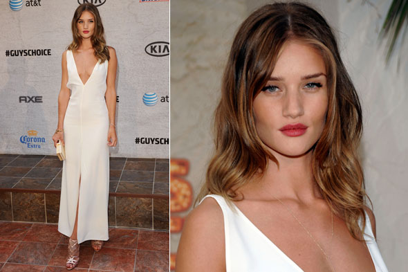 Rosie Huntington-Whiteley in The Row at the Spike TV Guys' Choice Awards 2011