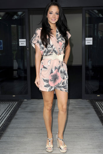 Tulisa Contostavlos in Manchester