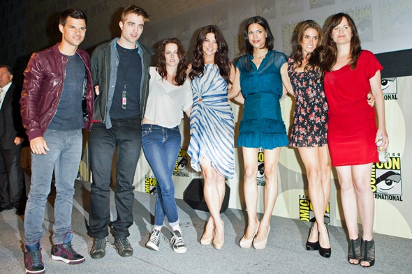 Day one: The cast of Twilight Breaking Dawn