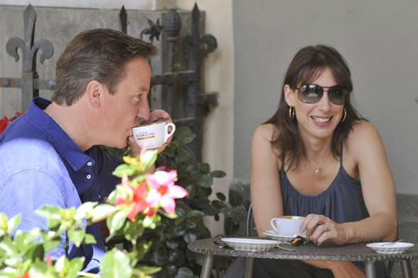 Samantha Cameron, David Cameron, Tuscany, Holiday Style, Kate McAuley, AOL, MyDaily