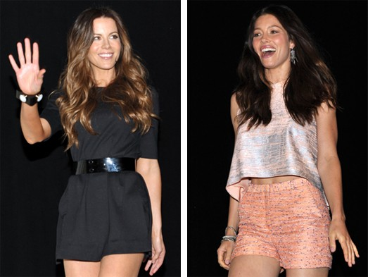 Kate Beckinsale, Jessica Biel, Comic-Con, AOL, MyDaily, Kate McAuley