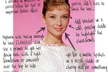 Anatomy of a beauty icon: Audrey Hepburn