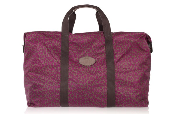 Mulberry fold up large clipper travel bag
