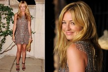 Cat Deeley shimmers in sequins at star-studded Miu Miu party
