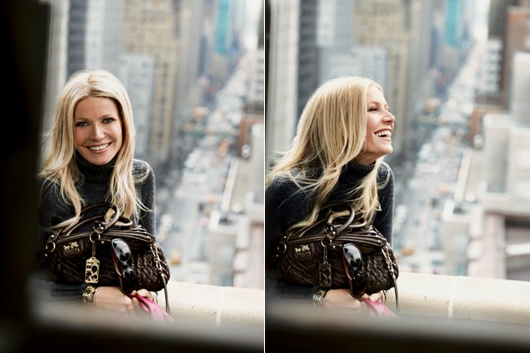 Gwyneth Paltrow for Coach first adverts