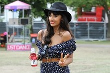 Hot or not: Jameela Jamil's flouncy floral dress