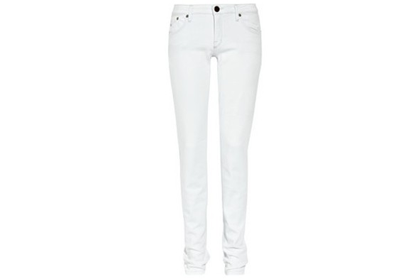 girls white skinny jeans - Jean Yu Beauty