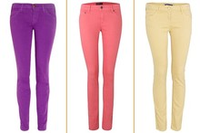 Shop the rainbow: Best coloured jeans