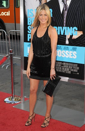 Jennifer Aniston Horrible Boss premiere in LA