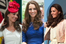 Duchess Kate gets patriotic in red, white & blue as Canada tour continues