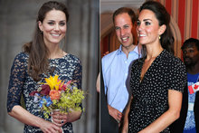 Duchess Kate wows Canada in Canadian designer, then flies the flag in British frock