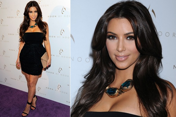 Kim Kardashian at the Noon by Noor launch party in LA
