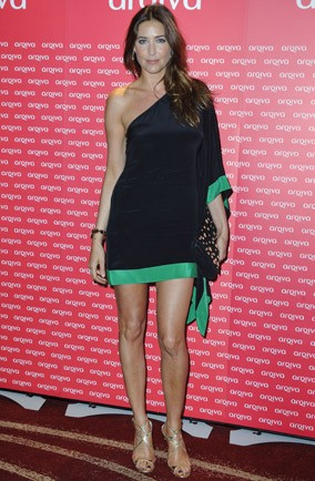 Lisa Snowdon at the Aqiva Commercial Radio Awards in London
