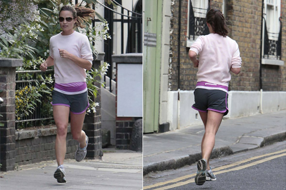 Pippa Middleton running photo