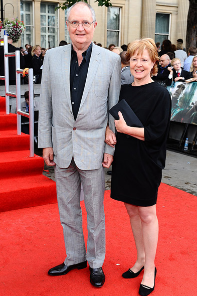 Jim Broadbent and wife