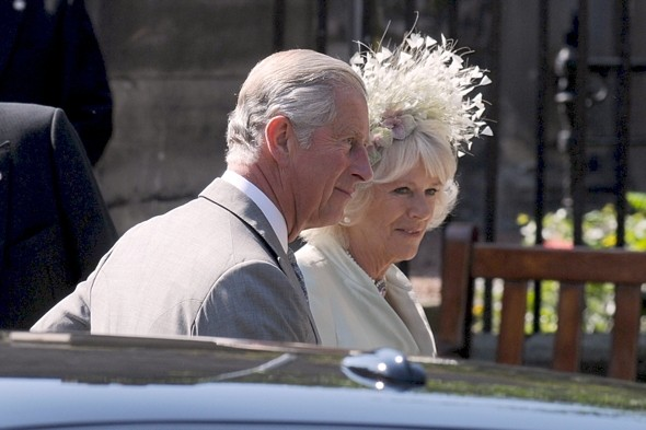 Prince Charles accompanied Camilla, Duchess of Cornwall