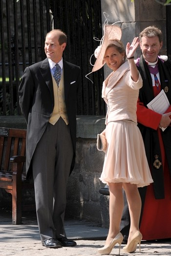 Prince Edward, Earl of Wessex, and Sophie, Countess of Wessex