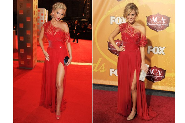Sarah Harding vs Carrie Underwood
