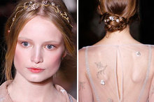 Haute couture beauty lessons a/w 2011