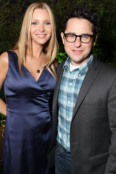 Lisa Kudrow and JJ Abrams