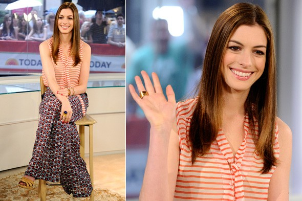 Anne Hathaway on The Today Show