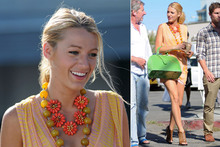 Steal her citrus style: Blake Lively's statement necklaces