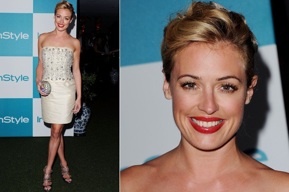 Cat Deeley at the InStyle summer soiree in California