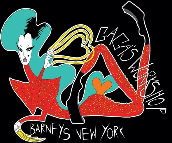 Barney's New York are collaborating with Lady Gaga on a Christmas grotto